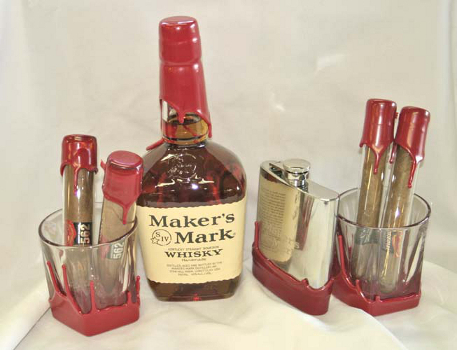 Maker's Mark and Kentucky Gentlemen Cigars